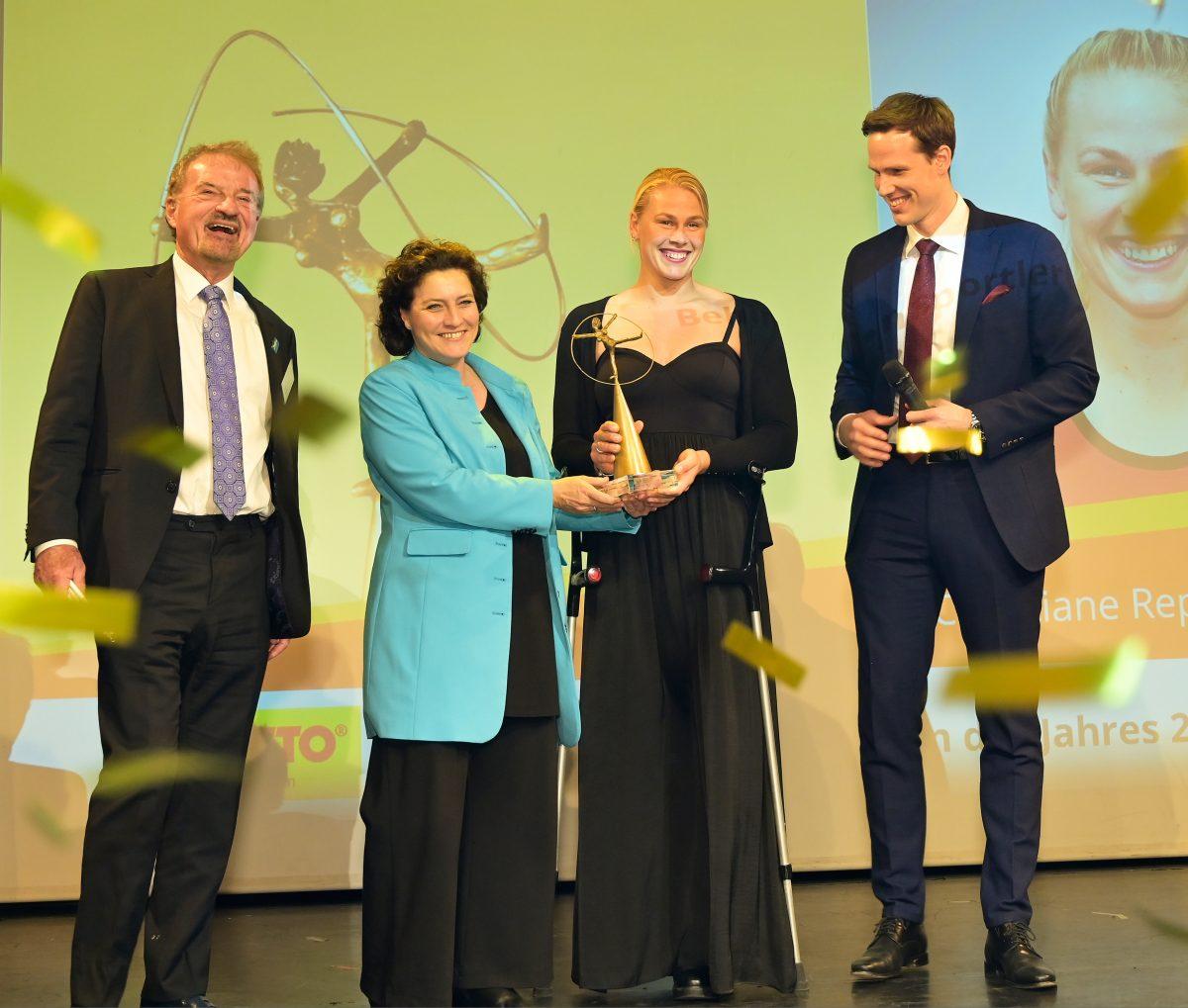 2020 BSN GOP Siegerin mit Ehrengasten