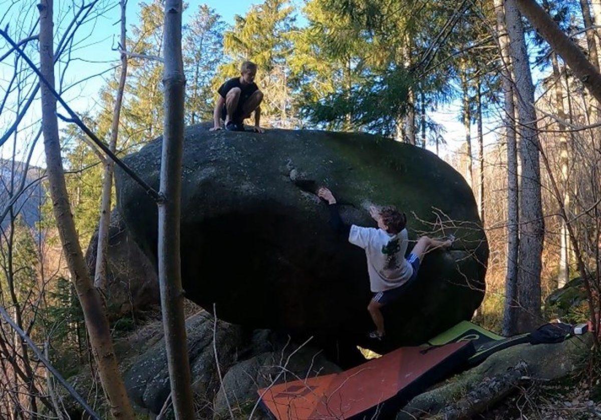Bouldern Harz