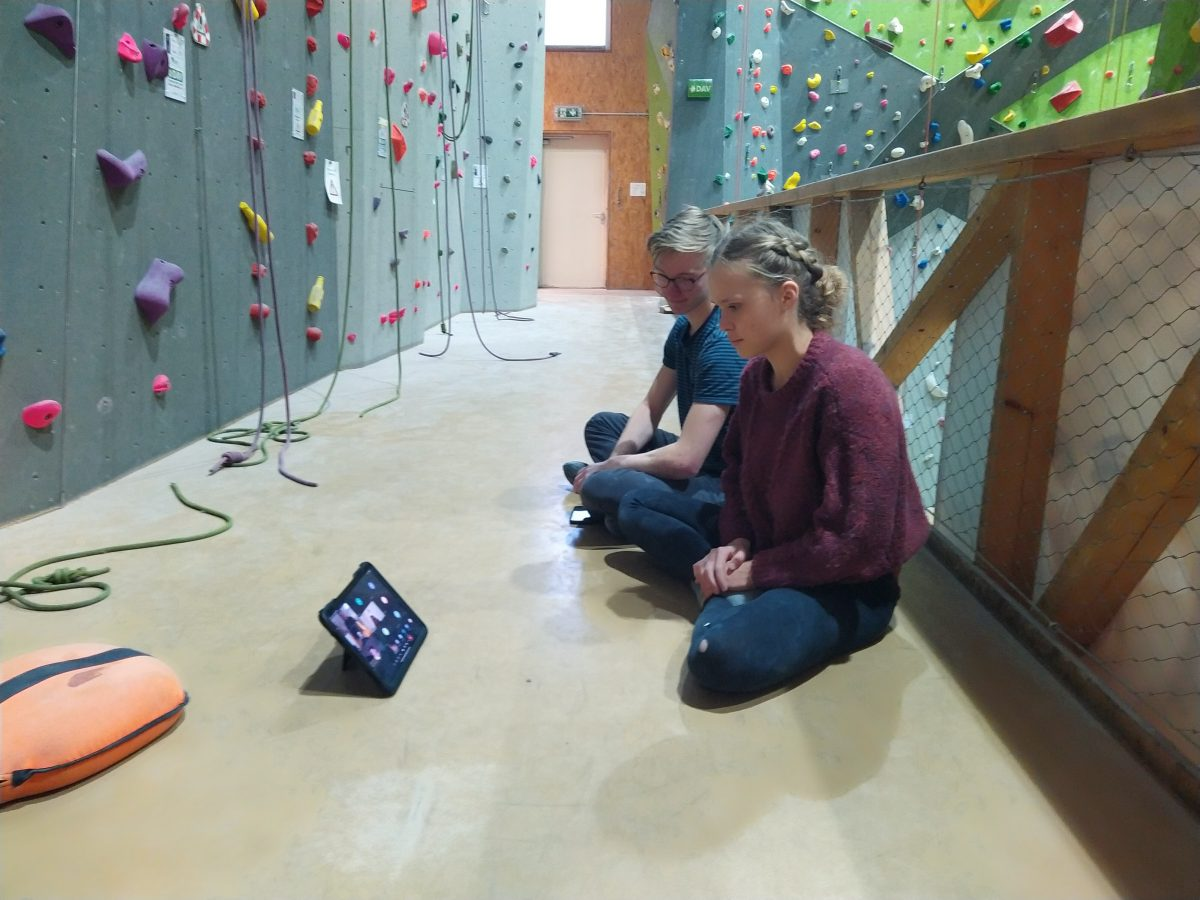 Videokonferenz Landestrainer