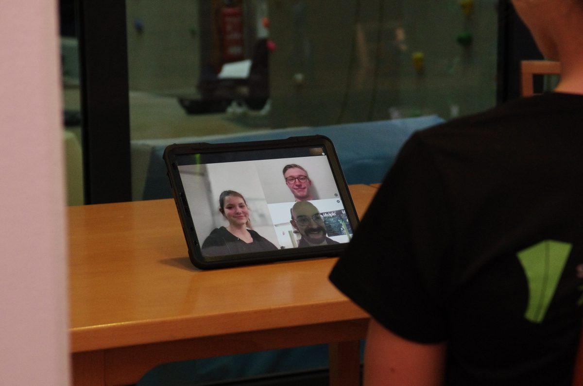 Videokonferenz Trainingsplaene