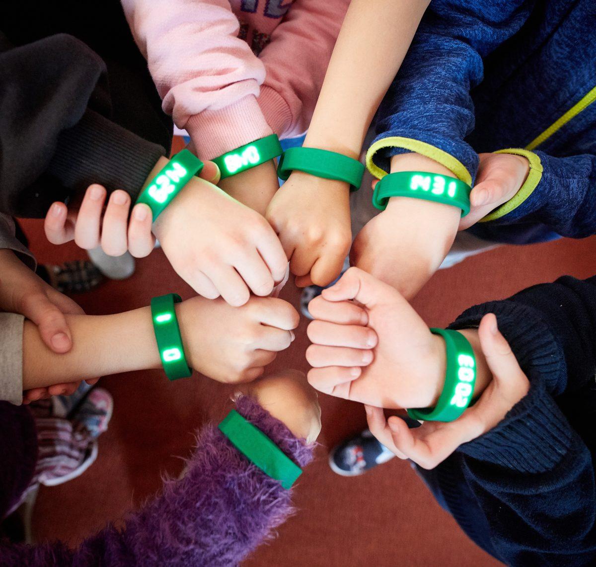 Kinder step Armband