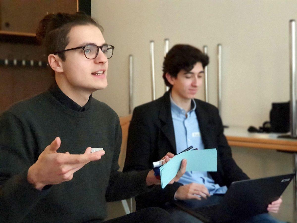 Referenten Students for future Klimaschutz Workshop