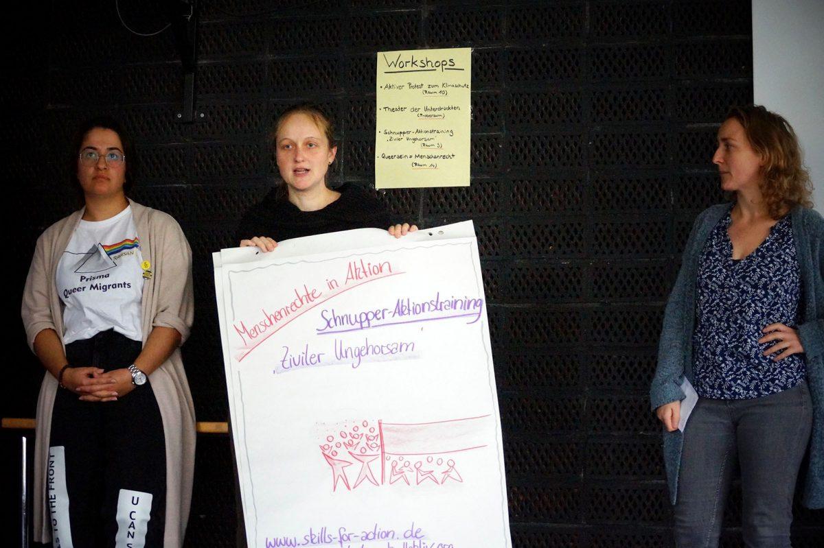 Vorstellung der Workshops