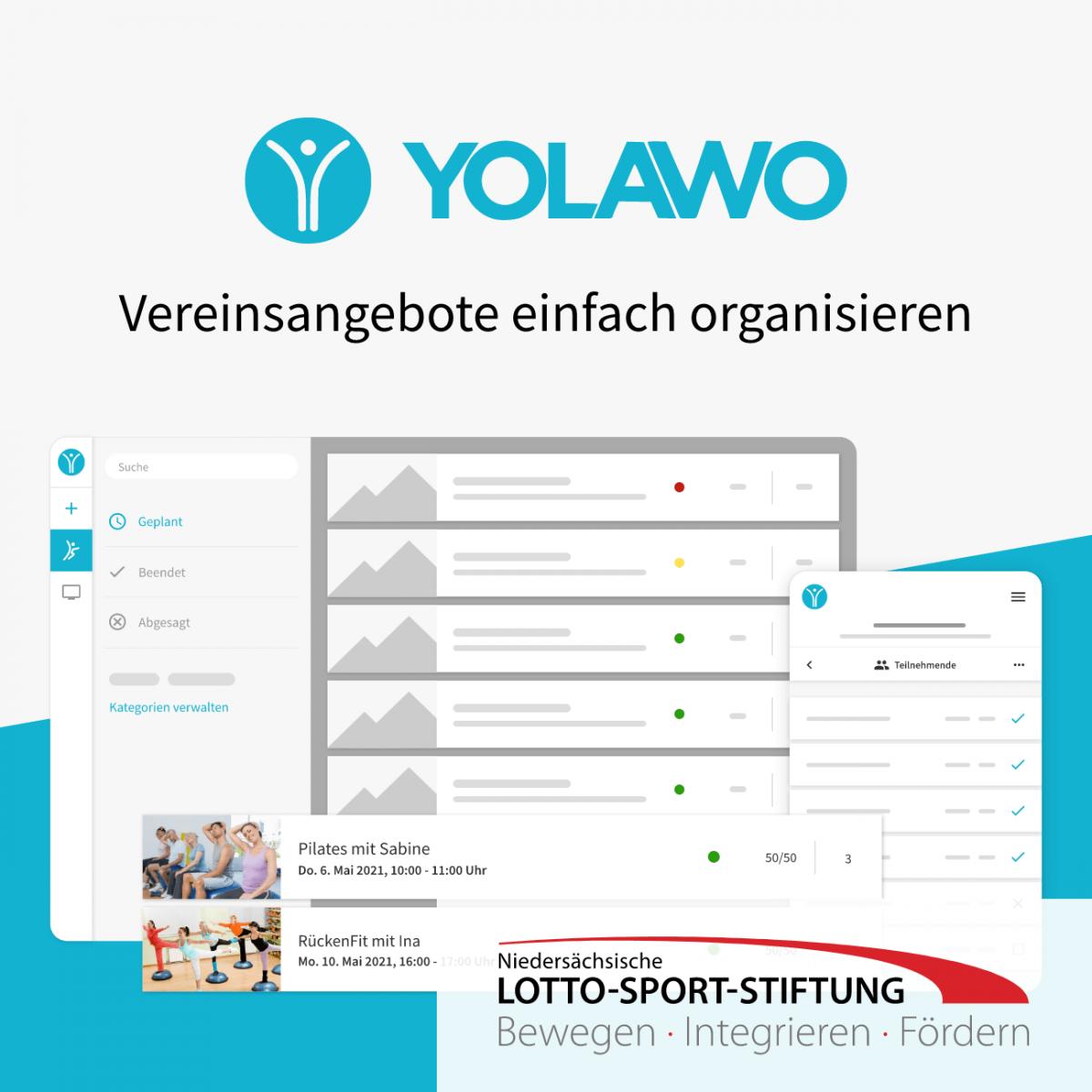 Yolawo Social 1 Lotto Sport Stiftung