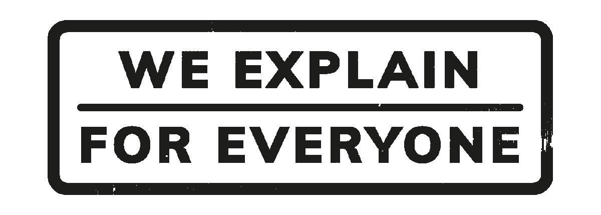 Explain logo schwarz trans 01
