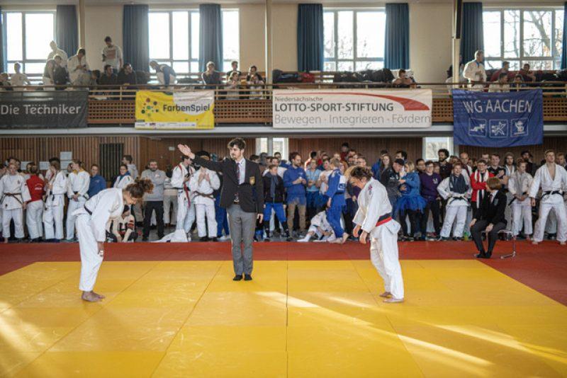 Einzelwettkämpfe DHM Judo Hannover